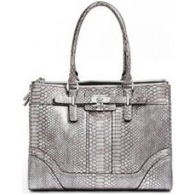 Guess business kabelka Greyson Metallic Status