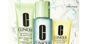 Clinique 3step Skin Care System4 Liquid Facial