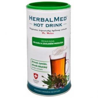 Simply You HerbalMed Hot Drink Dr. Weiss - kašeľ,