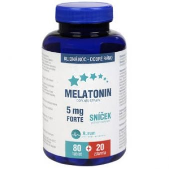 Pharma Activ Melatonin 5 mg Forte 80 tbl. + 20 tbl