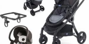 CHICCO Urban Plus Crossover anthracite 2017 3v1