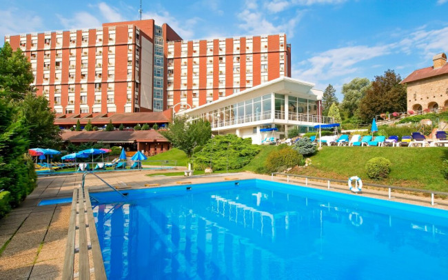 Maďarsko: Hévíz v Superior izbe v Ensana Thermal Aqua **** s all inclusive, neobmedzeným wellness a aktivitami - Ensana Thermal Aqua Health Spa Hotel ****