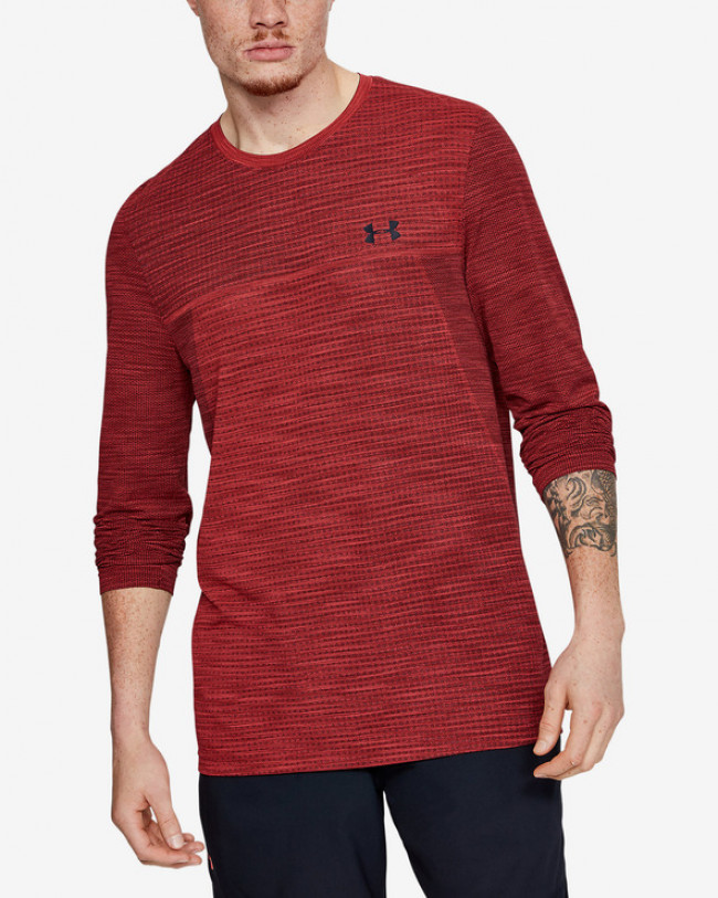 Under Armour Vanish Seamless Tričko Červená