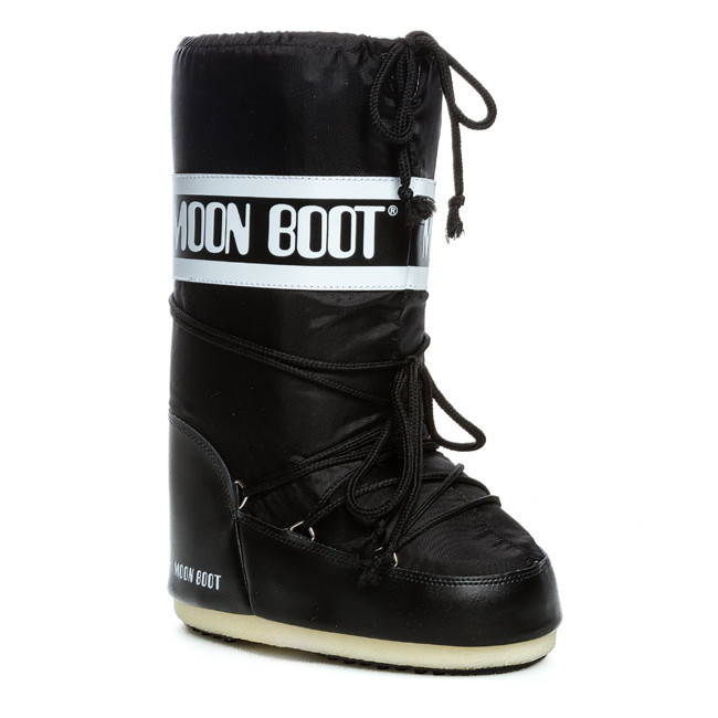 Snehule MOON BOOT - Nylon 14004400 001 Nero