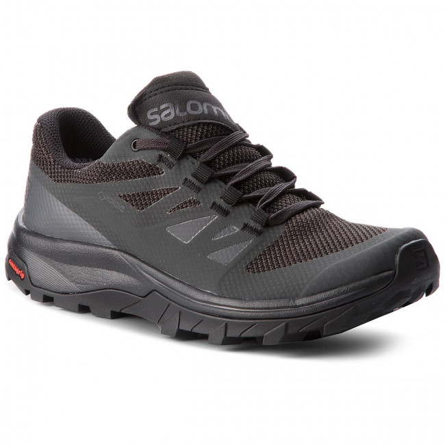 Trekingová obuv SALOMON - Outline Gtx W GORE-TEX 404852 21 V0 Phantom/Black/Magnet