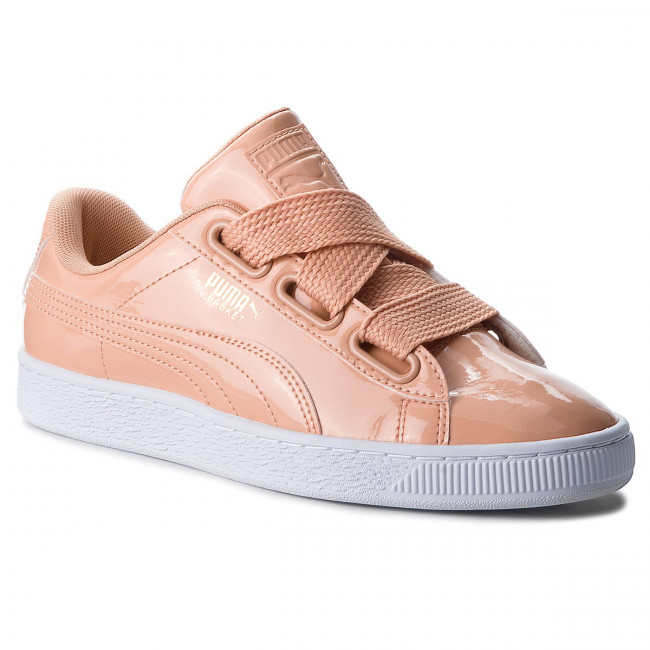 Sneakersy PUMA - Basket Heart Patent 363073 16 Dusty Coral/Dusty Coral