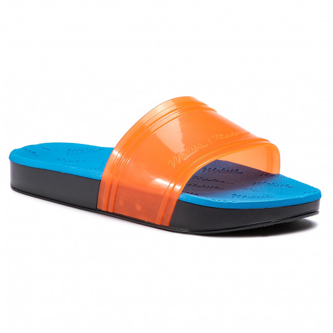 Šľapky MELISSA - Slide + Rider Ad 32434 Orange/Blue/Green 53430