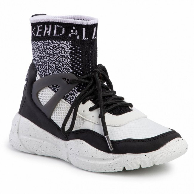 Sneakersy KENDALL + KYLIE - North-Hi Black/White