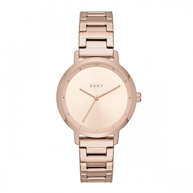 Hodinky DKNY - The Modernist NY2637 Rose Gold/Rose Gold