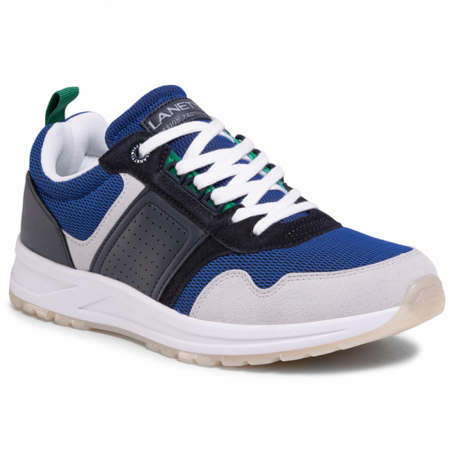 Sneakersy LANETTI - MP07-91232-01 Blue