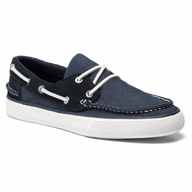 Poltopánky HELLY HANSEN - Sandhaven Deck Shoe 11469-597.7 Navy/Off White/Alert Red