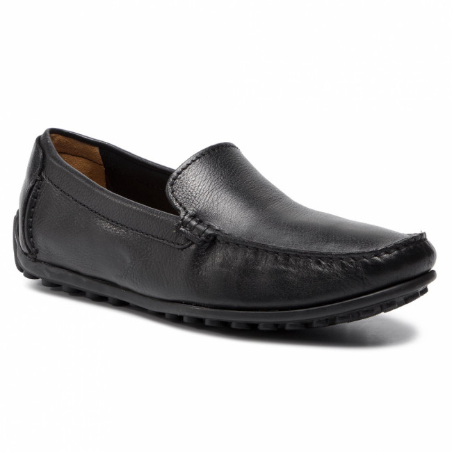 Mokasíny CLARKS - Hamilton Free 261199207 Black Leather
