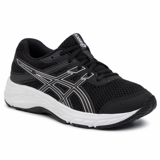 Topánky ASICS - Contend 6 Gs 1014A086 Black/White 001