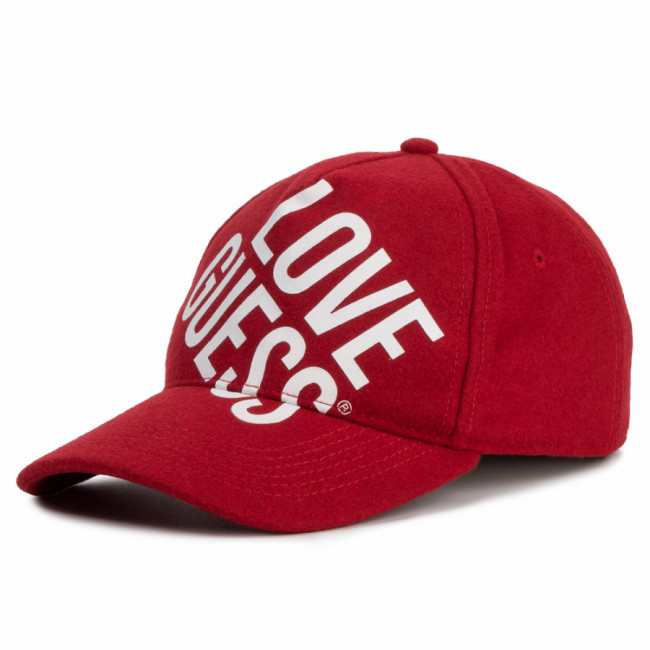 Šiltovka GUESS - Haidee (GL) Hats AW8338 COT01 RED