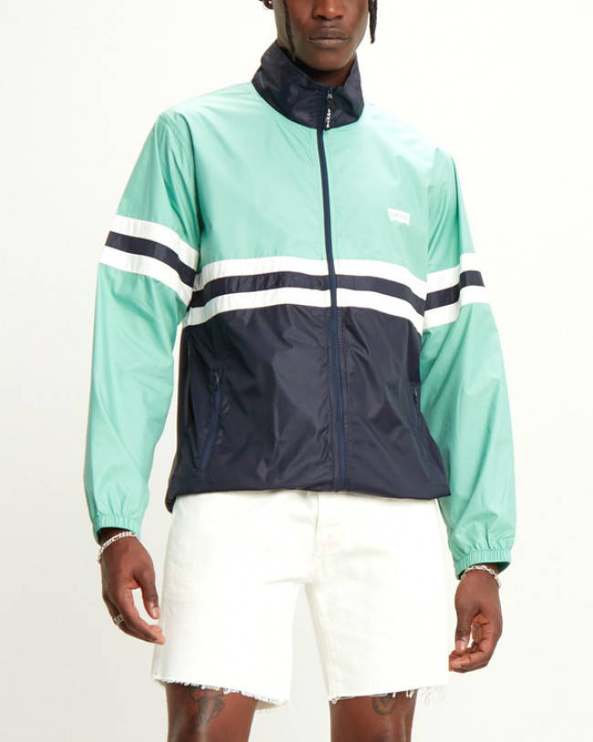 Levi's Colorblocked Windbreaker Bunda Zelená