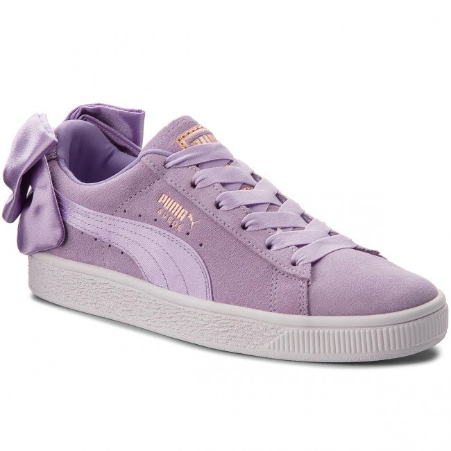 Sneakersy PUMA - Suede Bow Jr 367316 03 Purple Rose/Purple Rose