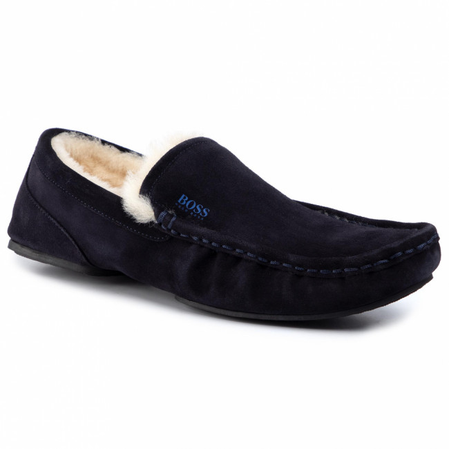 Papuče BOSS - Relax 5042321 10223624 01 Dark Blue 401