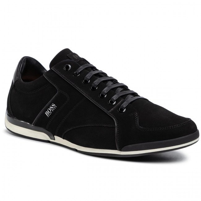 Sneakersy BOSS - Saturn 50428262 10214613 01 Black 002