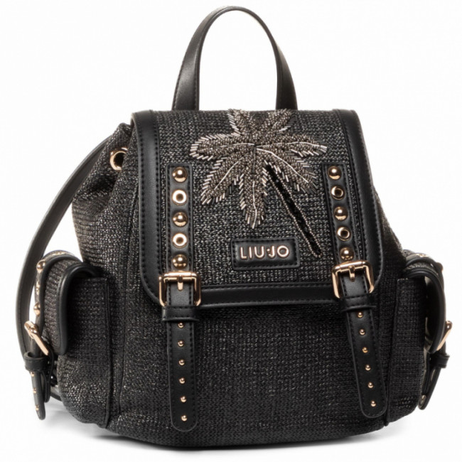 Ruksak LIU JO - S Backpack NA0142 T6476 Nero 22222