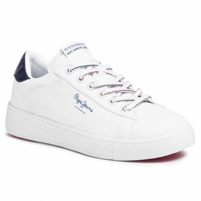 Sneakersy PEPE JEANS - Roxy Summer20 PLS30955  White 800