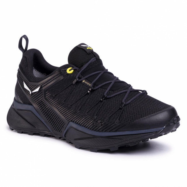 Trekingová obuv SALEWA - Ms Dropline Gtx GORE-TEX 61366-0978 Black Out/Fluo Yellow 0978