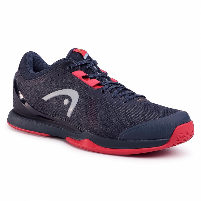 Topánky HEAD - Sprint Pro 3.0 273000 Midnight Navy/Neon Red 065