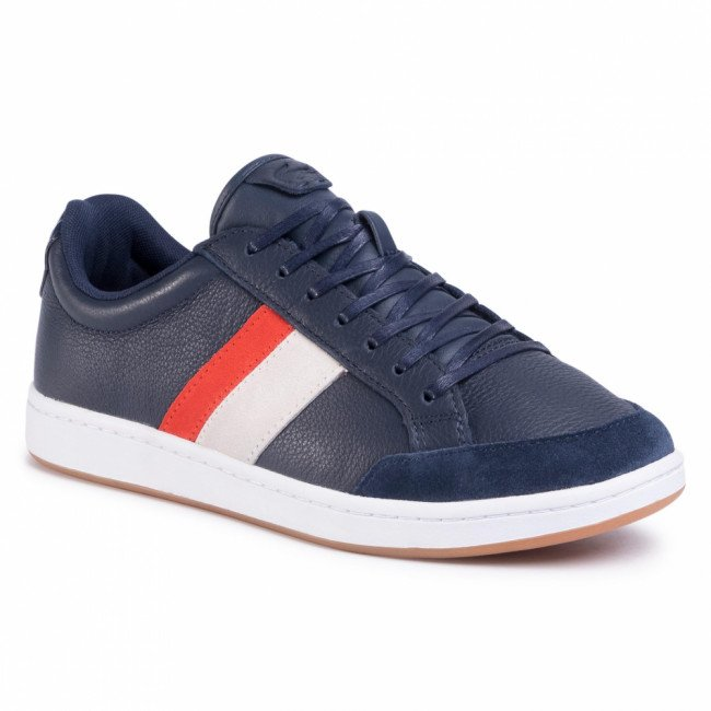 Sneakersy LACOSTE - Carnaby Ace 120 1 Sma 7-39SMA0015325  Nvy/Org