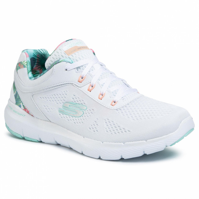 Topánky SKECHERS - Tropical Princess 149002/WMNT  White