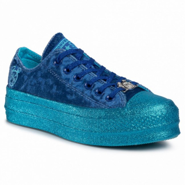 Tramky CONVERSE - Ctas Lift Ox 563721C Gnarly Blue/Blue/Gnarly Blue