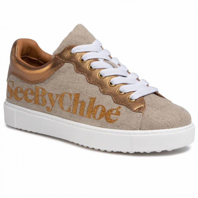 Sneakersy SEE BY CHLOÉ - SB34151A Fabric Oasi 030/Nappa Vintage 087/Logo