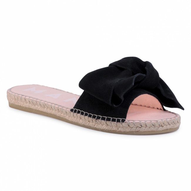 Espadrilky MANEBI - Sandals With Bow K 1.0 J0 Black