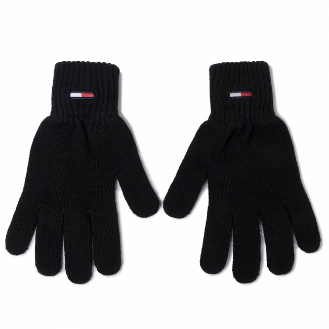 Rukavice Pánske TOMMY JEANS - Tjm Basic Flag Rib Gloves AM0AM05217 BDS