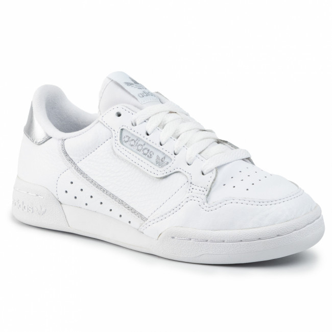Topánky adidas - Continental 80 W EE8925 Ftwwht/Ftwwht/Silvmt