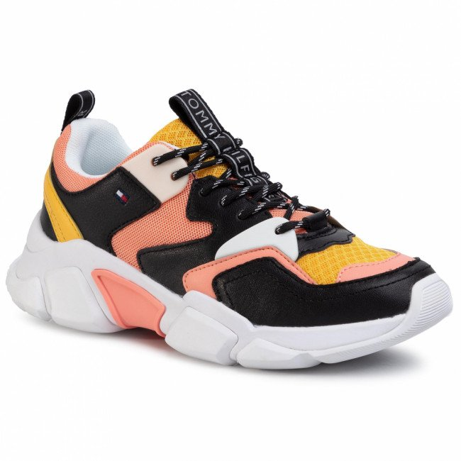 Sneakersy TOMMY HILFIGER - Chunky Lifestyle Sneaker FW0FW04695 Island Coral SN7