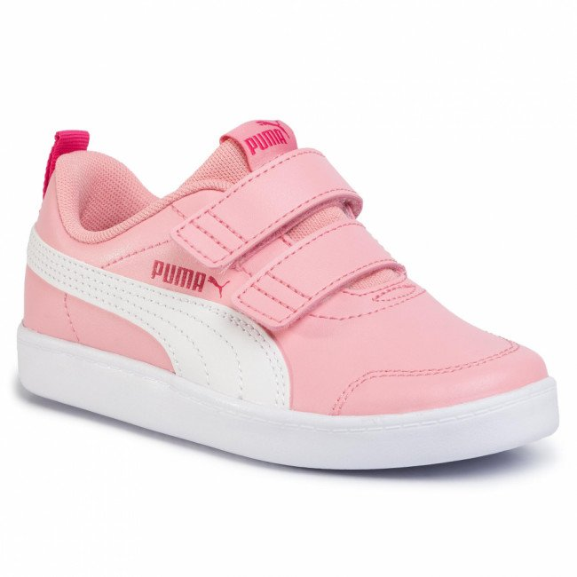 Sneakersy PUMA - Courtflex V2 V Ps 371543 03 Peony/Bright Rose