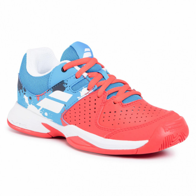 Topánky BABOLAT - Pulsion All Court Jr 32S20482 Tomato Red/Blue Aster