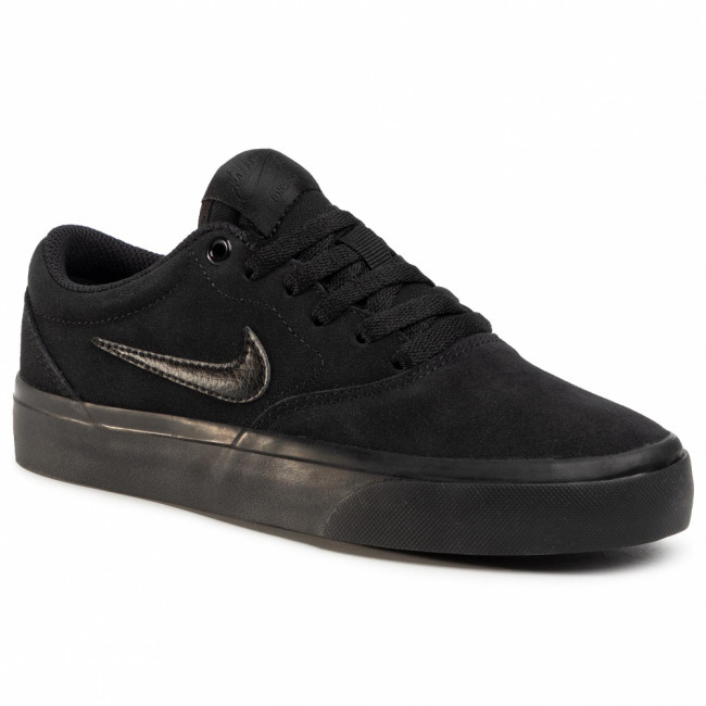 Topánky NIKE - Sb Charge Suede (Gs) CT3112 001 Black/Black/Black