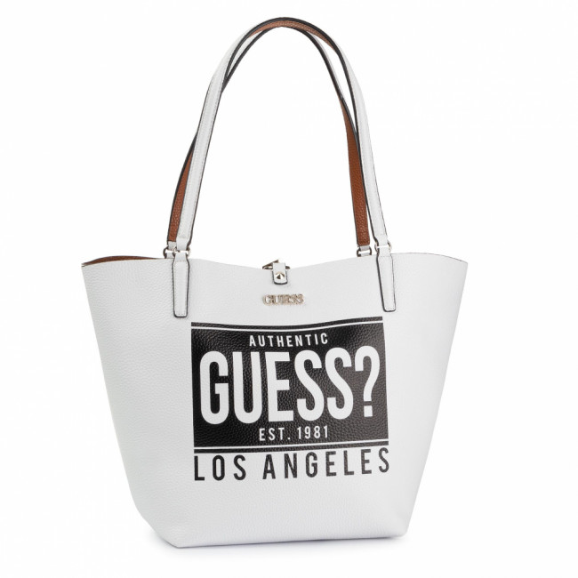Kabelka GUESS - Alby (AG) HWAG74 55230 WHC