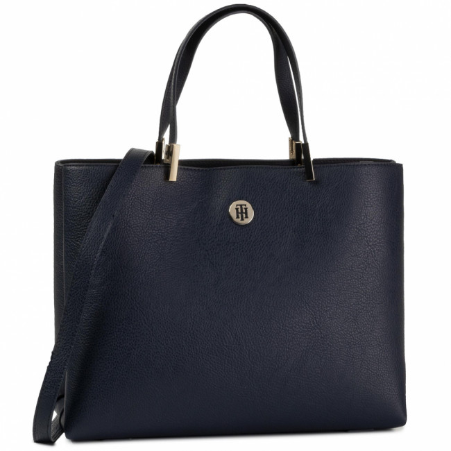 Kabelka TOMMY HILFIGER - Th Core Satchel AW0AW07686  CJM