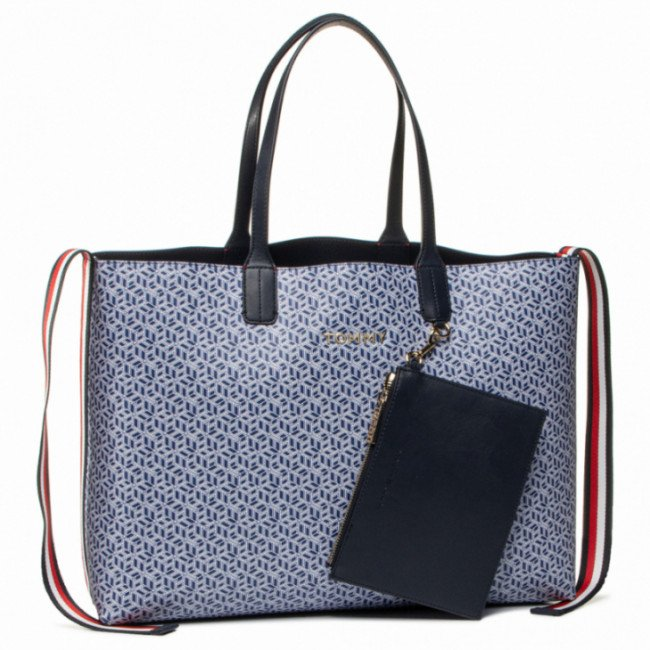 Kabelka TOMMY HILFIGER - Iconic Tommy Tote Monogram AW0AW08318 C7H