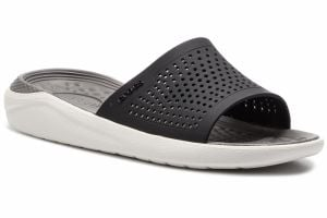 Šľapky CROCS - Literide Slide 205183 Black/Smoke