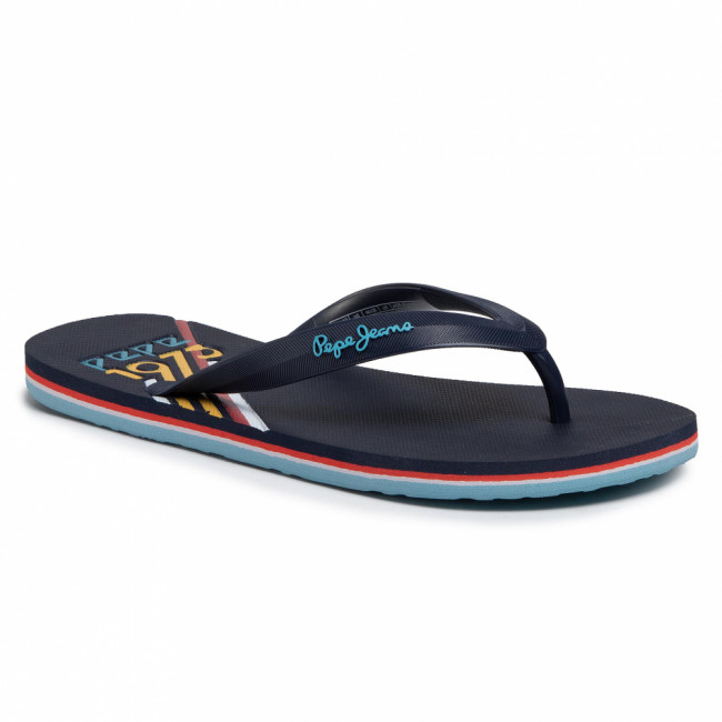 Žabky PEPE JEANS - Whale Archive PMS70084 Navy 595