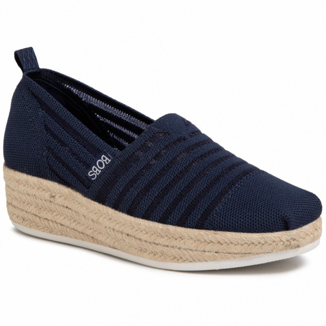 Espadrilky SKECHERS - BOBS Highlights 2.0 113001/NVY Navy