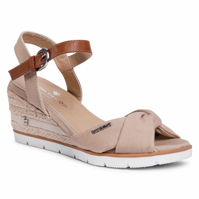 Espadrilky TOM TAILOR - 809040380 Beige 1