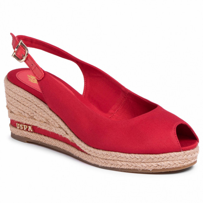 Espadrilky U.S. POLO ASSN. - Vicotria Rope AGATA4089S0/CY3 Red