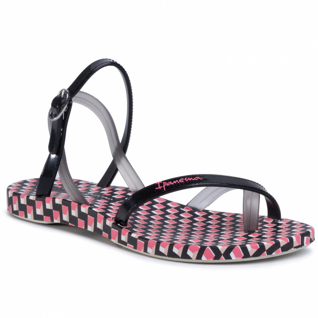 Sandále IPANEMA - Fashion Sand VIII 82766 White/Black/Pink 24898