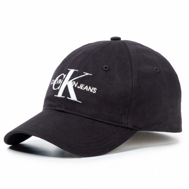 Šiltovka CALVIN KLEIN JEANS - J Monogram Cap With Embroidery K60K606246 BAE