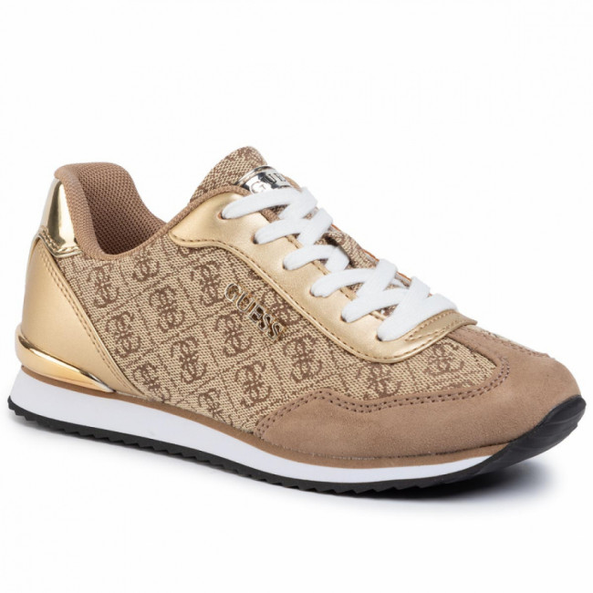 Sneakersy GUESS - Charlin2 FL5CH2 FAL12 BEIGE/BROWN