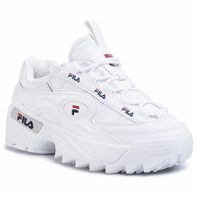Sneakersy FILA - D-Formation Wmn 1010856.92N White/Fila Navy/Fila Red