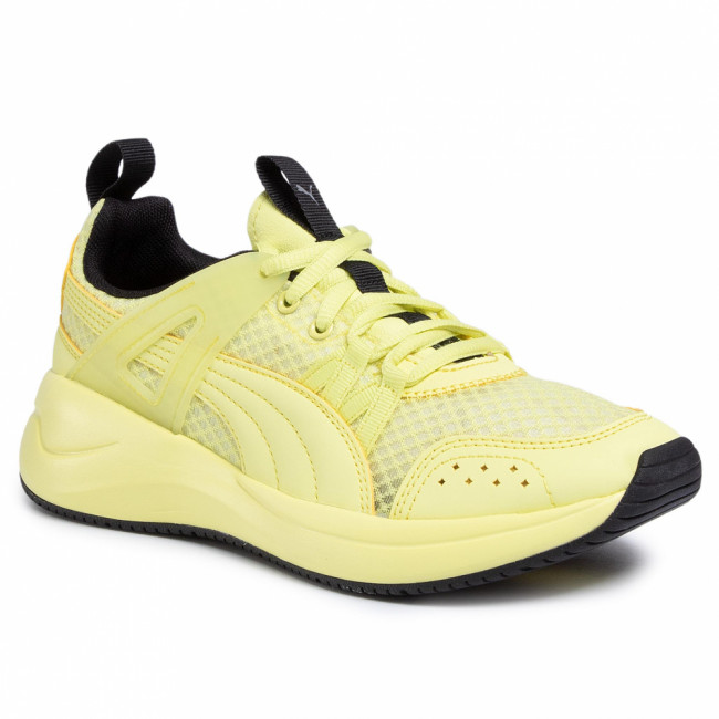 Sneakersy PUMA - Nuage Run Cage Summer 372561 03 Sunny Lime/Puma Black/Puma S